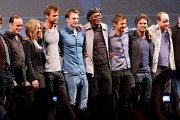 The Avengers Cast at the 2010 Comic-Con