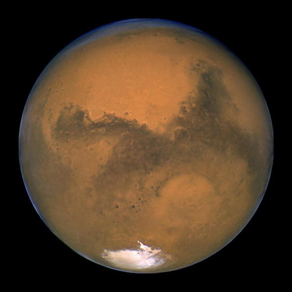 Planet Mars Makes A Close Approach To Earth