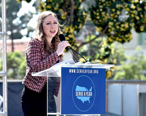Chelsea Clinton And Jimmy Kimmel Join ServiceNation In Launching Serve A Year At 'Jimmy Kimmel Live!' Studios