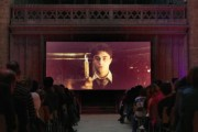 Gloucester Cathedral Show Harry Potter Film On A Giant Screen