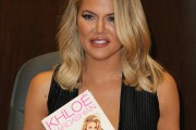 Khloe Kardashian Book Signing For 'Strong Looks Better Naked'