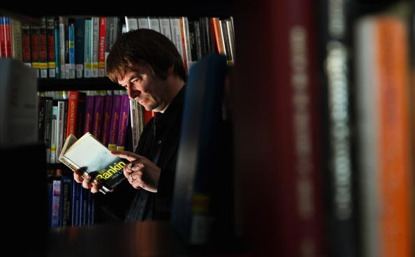 Ian Rankin Opens Revamped Edinburgh University Library