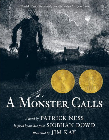 A Monster Calls by Patrick Ness, Jim Kay