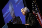 Fed Chair Janet Yellen Addresses Economic Club Of Washington D.C.